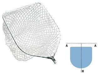 Podbierak Jaxon Spinning Nylon Net