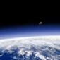 Planeta ziemia - horyzont - fototapeta