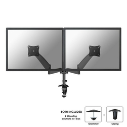 NewStar FPMA-D950DBLACK UCHWYT BIURKOWY LCD, KLEMAPRZELOT