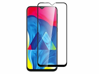 Szkło Alogy Full Glue case friendly do Samsung Galaxy M20 Czarne
