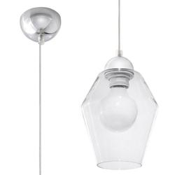 Sollux - lampa wisząca silvia - transparentna