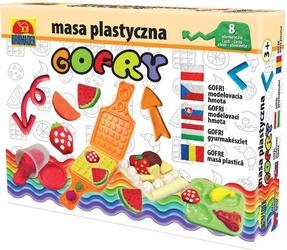 Masa plastyczna gofry