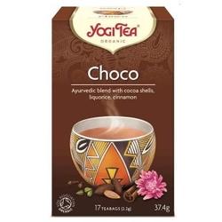 Herbata choco chai aztec spice czekoladowa 17 torebek yogi tea bio