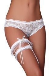 Podwiązki garter set white livia corsetti