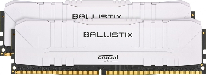 Crucial pamięć ddr4 ballistix 323200 216gb cl16 white