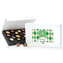 Czekoladki z okazji dnia dziadka chocolate box white