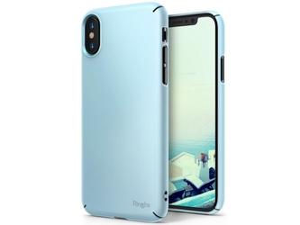 Etui ringke slim apple iphone x xs sky blue - niebieski