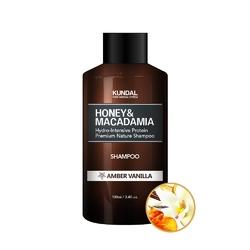Kundal szampon do włosów - bursztynowa wanilia honeymacadamia shampoo amber vanilla 100ml