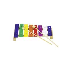 Kolorowy drewniany 8-tonowy ksylofon