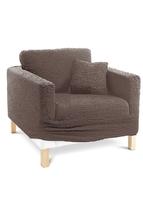 Pokrowiecposzewki na poduszki quot;crinclequot; bonprix brązowy