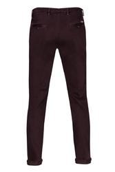 Spodnie męskie śliwkowe typu chino 52
