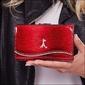 Skórzany portfela damski czerwony paris design 74108-dshk red