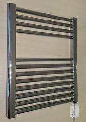 Grzejnik łazienkowy wetherby - grzejnik elektryczny, wykończenie proste, 500x600, chromowany