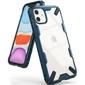 Etui ringke fusion x do apple iphone 11 space blue + szkło alogy - niebieski