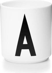 Kubek porcelanowy aj litera a