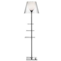 Flos :: lampa podłogowa biblotheque nationale transparent