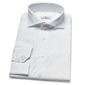 Elegancka biała koszula van thorn w błękitny wzorek 36