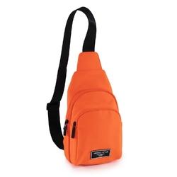 Plecak damski kendall+kylie nora one shoulder backpack orange - pomarańczowy