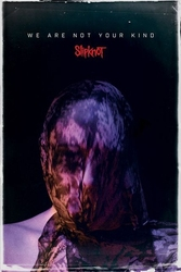Slipknot we are not your kind - plakat