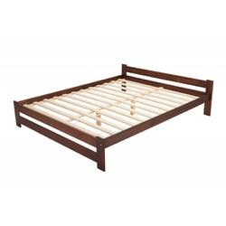 Łóżko drewniane ottawa, 120x200, orzech