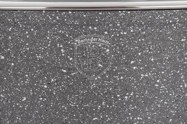 Berlinger haus garnek stone touch 4.1 l 24 cm zp szary indukcja