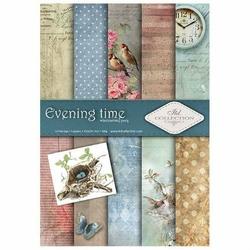 Papier do scrapbookingu Evening time 21x29,7 cm - zestaw