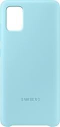 Samsung etui do galaxy a71 silicone cover niebieskie