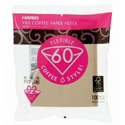 Hario | filtry papierowe do dripa brązowe - rozmiar 02 100 szt.