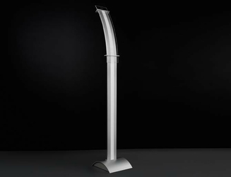 Moderno elisse lampa stojąca