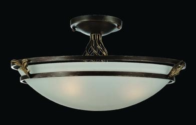 Lampa sufitowa antyczny mosiądz combinare maytoni classic c232-cl-03-r