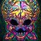 Psychoskull, predator, alien obcy - plakat wymiar do wyboru: 29,7x42 cm