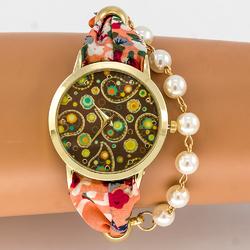 Zegarek perełki łezki - łezki