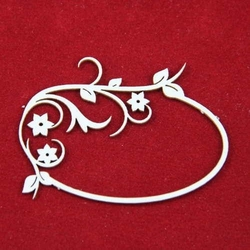 Dekoracyjna ramka Primavera z kwiatami - 02 - 02