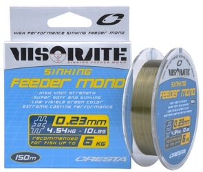 Żyłka cresta visorate feeder mono 0,23mm 150m