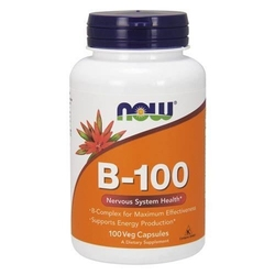 Now vitamin b-100 - 100veg caps.