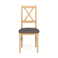 Krzesło tapicerowane mack grafitdąb sonoma