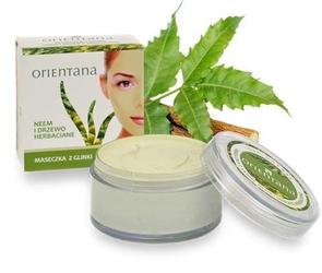 Orientana maseczka z glinki neem i drzewo herbaciane 50g
