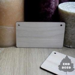 Drewniana tabliczka do decoupage 9,5x5,5 cm - 03