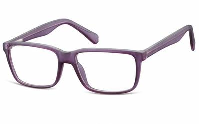 Oprawki korekcyjne nerdy zerówki flex sunoptic cp162e fioletowe