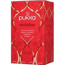 Herbata rewitalizująco-rozgrzewajaca revitalise 20 saszetek pukka