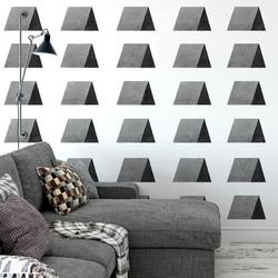 Tapeta na ścianę - triangle wave art , rodzaj - tapeta flizelinowa