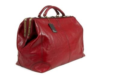 Kufer podróżny szlachetna skóra licowa