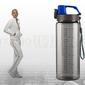Bidon sportowy 600 ml energy niebieski