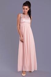 Evalola sukienka - róż 7815-1