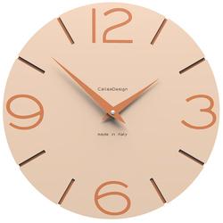 Zegar ścienny Smile CalleaDesign różowo-piaskowy 10-005-21
