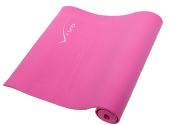 Mata do ćwiczeń vivo fa016 eva 173x60x0,6cm pink