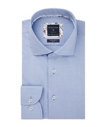 Męska koszula niebieska twill 37