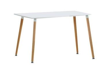 Stół kuchenny socrates 120x80cm biały