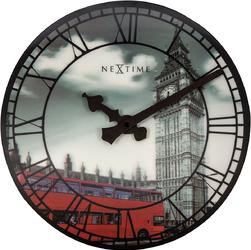 Zegar ścienny Big Ben 3D Nextime 39 cm, wieża pałacu Westminsterskiego 3136