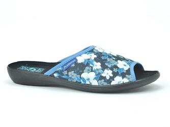 Pantofle  adanex 24702 czarny